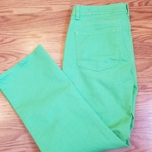 Talbots Signature crop flare pants
